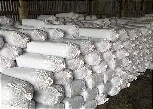 Saco branco Para Silagem - Medida 51 X 110 cm - Pacote 25 unidades