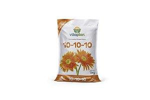Fertilizante Mineral Misto 10.10.10 Saco 1 KG