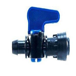 Registro Inicial 16mm Com Anel 6 Pontas Para Tubo Pelbd Irrigação