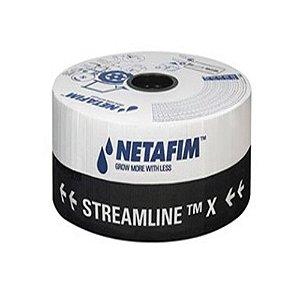 Mangueira Tubo de Gotejamento Netafim Streamline X 60 LH 20x20 CM   1000M