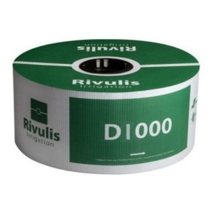 Tubo Gotejador Rivulis D1000 H 16/8 1,5L/H 20x20cm 1.000 mts