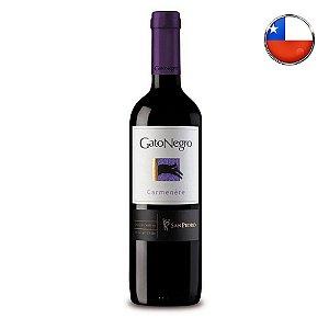 Vinho Gato Negro Carménère - 750 ml