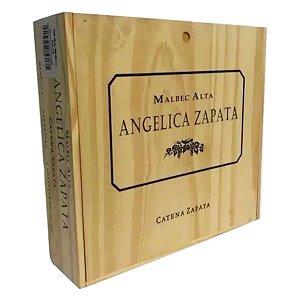 Vinho Angelica Zapata Malbec Alta - 750ml Caixa de Madeira com 4 un.