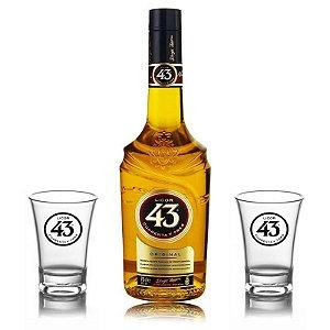 Licor 43 - 700 ml + 2 Shots