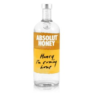 Vodka Absolut Honey - 1L