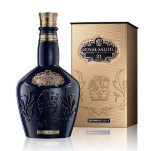 Whisky Chivas Royal Salute Sapphire 21 anos - 700 ml