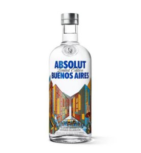Vodka Absolut Buenos Aires - 750 ml