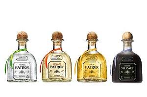 Kit Miniatura Tequila Patrón