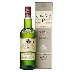 Whisky The Glenlivet 12 Anos - *1L