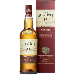 Whisky The Glenlivet 15 Anos - 750 ml