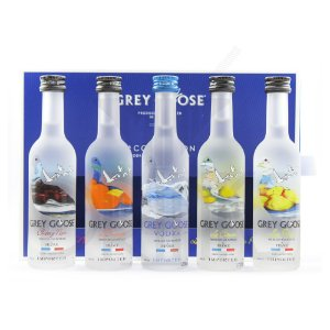 kit Mini Grey Goose La Collection - 5 x 50 ml
