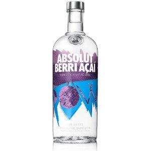 Vodka Absolut  Berri Açai - 1L