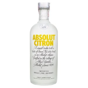 Vodka Absolut Citron - 1L