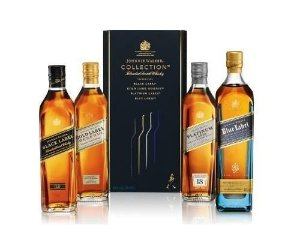 Kit Johnnie Walker Collection - 4 x 200 ml