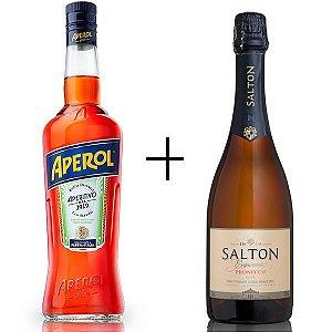 Combo Aperol 750 ml + Salton Prosecco 750 ml