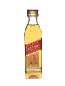 Miniatura Whisky Red Label - 50 ml