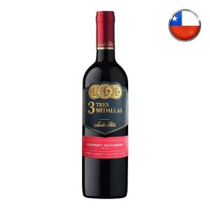 Vinho 3 Medallas Cabernet Sauvignon - 750 ml