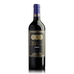 Vinho 3 Medallas Merlot - 750 ml