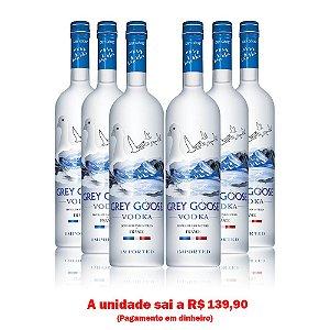 Vodka Grey Goose 1L - Cx. 06 Und.