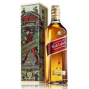 Whisky Johnnie Walker Red Label - 1L *EDIÇÃO 1908 - 110 ANOS STRIDING MAN