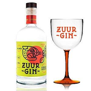 Gin Zuur - 700 ml + Taça Oficial (Acrílico)
