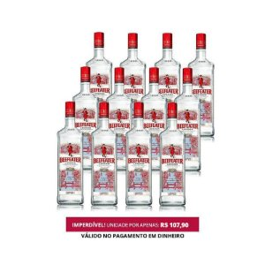 Gin Beefeater - 1L - 1 Cx. / 12 Unid.