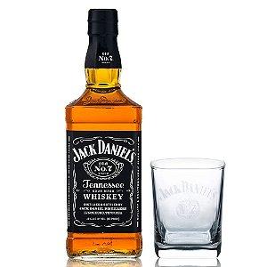 Whiskey Jack Daniel's 1 Litro + Copo Oficial