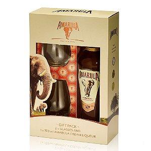 Kit Amarula 700 ml + 2 Copos