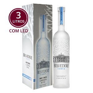 Vodka Belvedere - 3 Litros