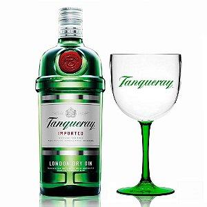 Kit Gin Tanqueray 1L + Taça Bicolor