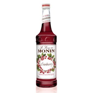 Xarope Monin Cranberry (Airelles) - 700 ml