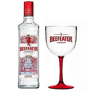 Kit Beefeater - 1 Litro* + 1 Taça Bicolor - Acrílico