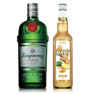 Combo Ginger Gin: Kaly Gengibre 700ml + Gin Tanqueray 750ml