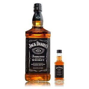 Whiskey Jack Daniel´s - 1L mais Mini Jack - 50 ml