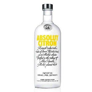 Vodka Absolut Citron - 750 ml