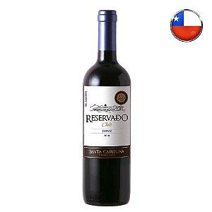 Vinho Santa Carolina Shiraz Reservado - 750 ml