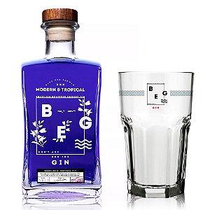 Gin BEG Modern e Tropical + Copo Oficial - 750 ml