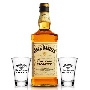Kit Jack Daniel´s Honey 1L + 2 Shots