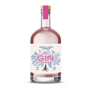 Gin Lamas Cerise Dry - 750 ml