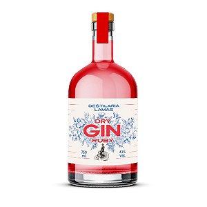Gin Lamas Ruby Dry - 750 ml