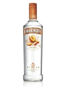 Vodka Smirnoff Peach - 998 ml