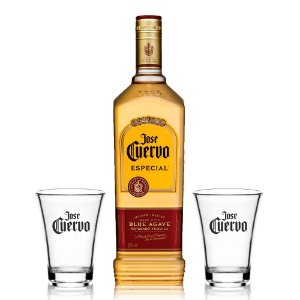 Kit Tequila Jose Cuervo + 2 Shots
