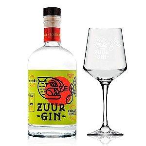 Gin Zuur 700 ml + Taça Oficial (Vidro)