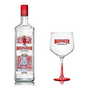 Gin Beefeater London Dry 1L + Taça de Vidro Beefeater