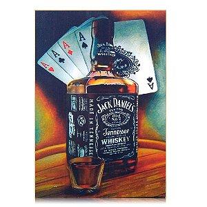 Quadro Jack Daniel's Personalizado - The Four Aces