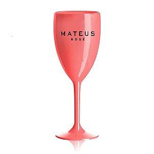 Taça Vinho Mateus Rosé - Acrílico - 300ml