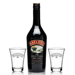 Kit Licor Baileys 750 ml + 2 Shots