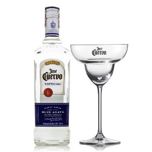 Tequila Jose Cuervo Silver 750 ml + Taça Margarita Oficial (Vidro)