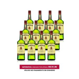 Whiskey Jameson - 750 ml - 1 Cx. / 12 Unid.