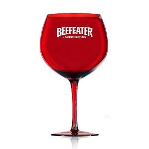 Taça Gin Beefeater Oficial - Vidro -  Vermelha - 580 ml